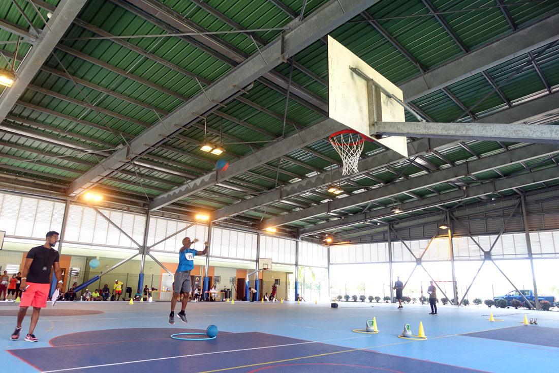 PLATEAUX SPORTIFS IMS terrain basket martinique terrain handball martinique volley ball martinique