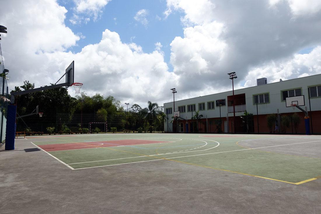 PLATEAUX SPORTIFS IMS terrain basket martinique terrain handball martinique
